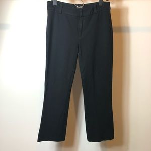 Madewell Black trouser pants size 2